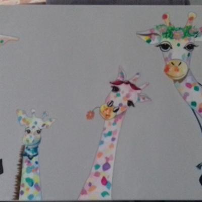 commande famille girafes
